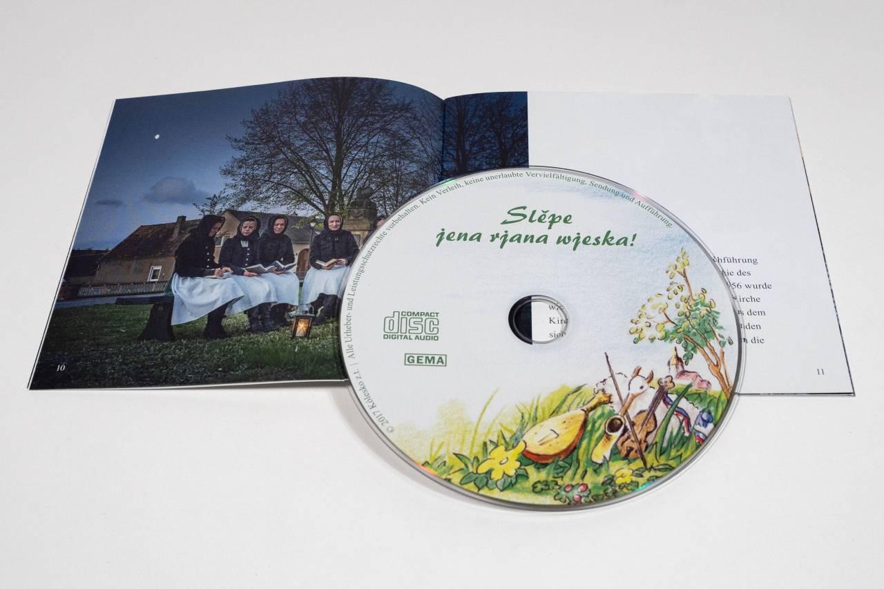 CD - Slěpe jena rjana wjeska