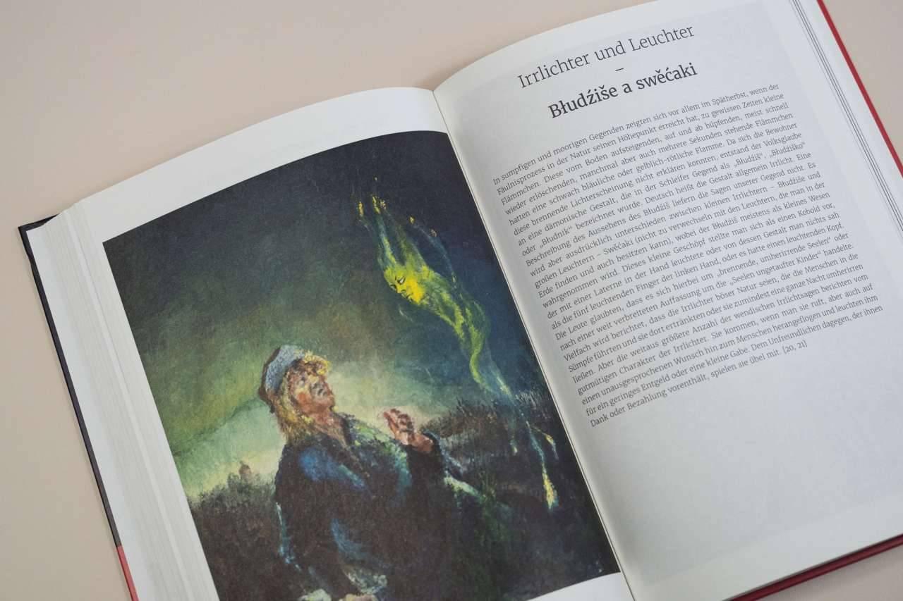 Schleifer Sagenbuch - Kak Slěpjańska cerkwja swój torm krydła