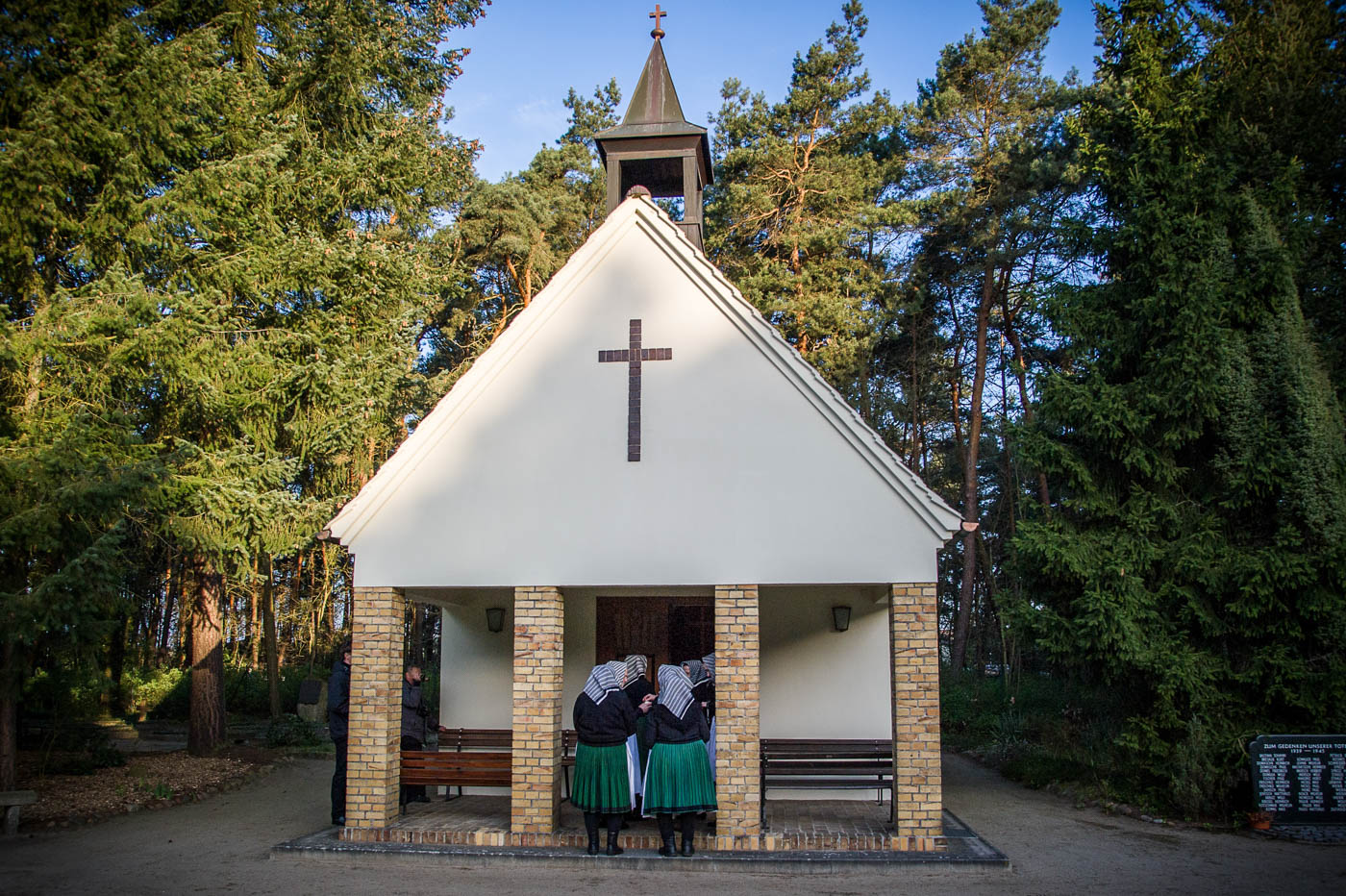 Morgenandacht in der Friedhofskapelle Rohne am 5. April 2015