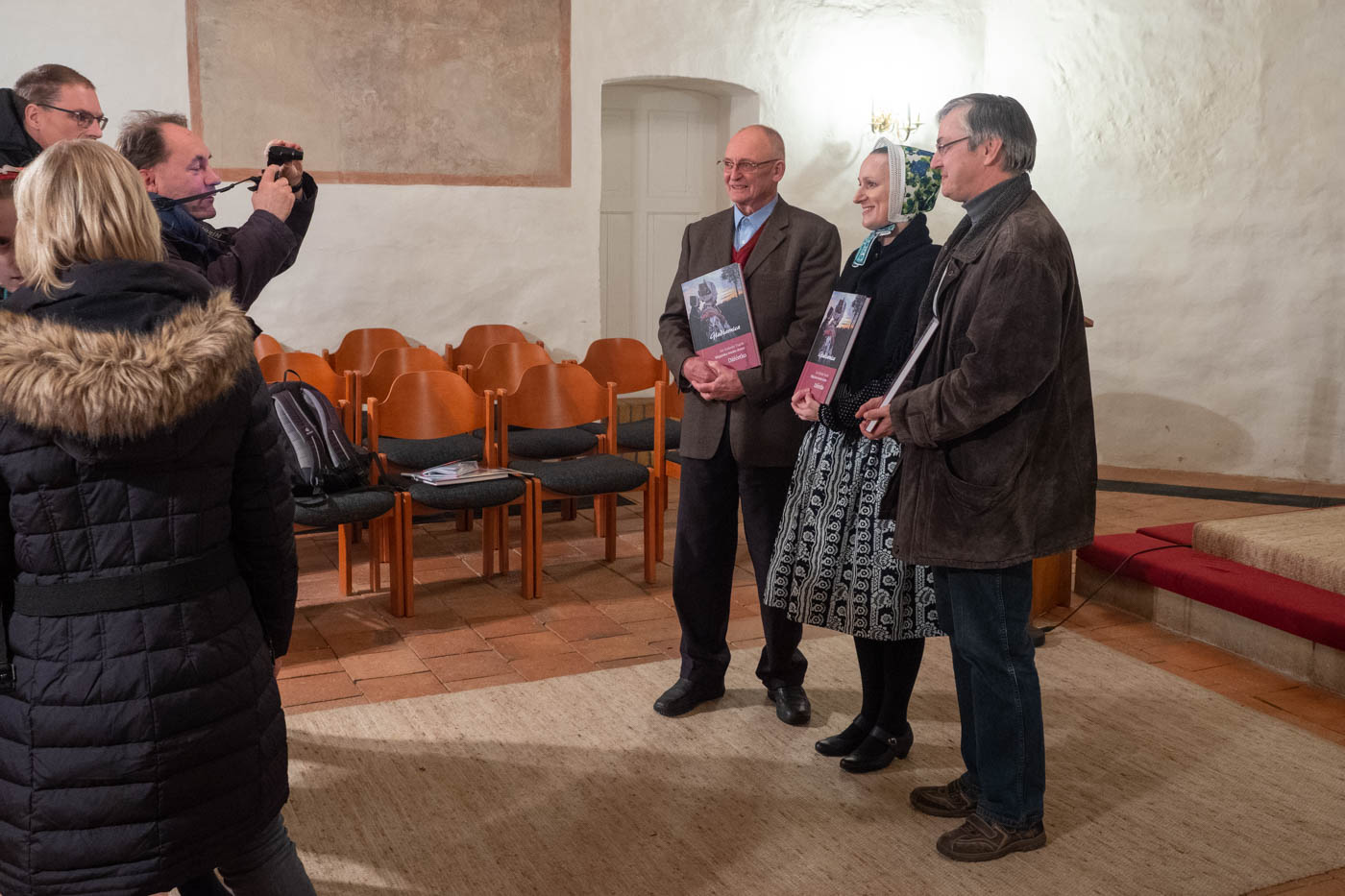 Die Buchvorstellung erfolgte im Rahmen einer musikalisch umrahmten Präsentation am 23. November 2018 in die Kirche Schleife.